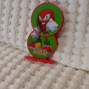 Sonic The Hedgehog Knuckles The Echidna Arby's Toy
